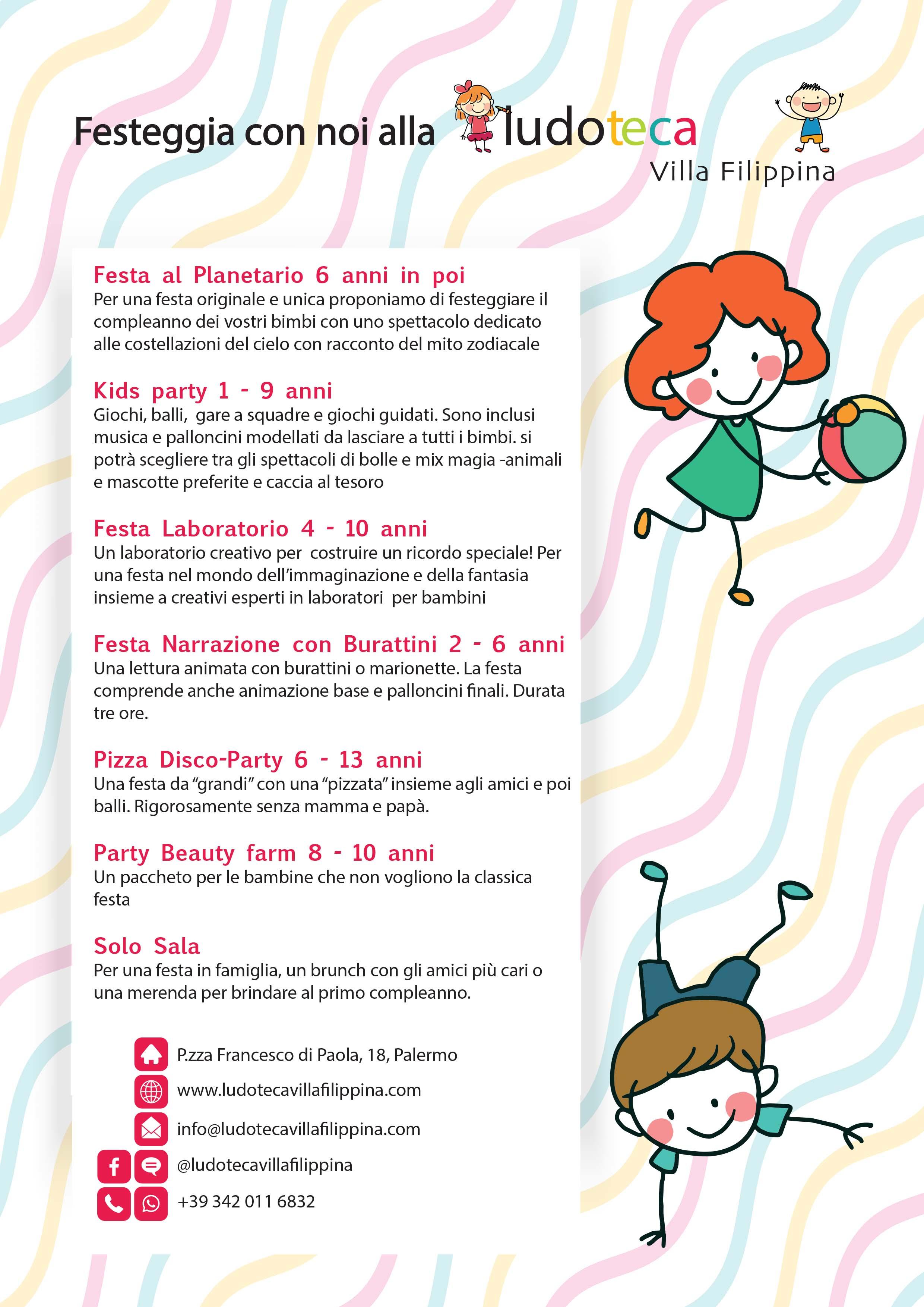 Fabuleux Feste di compleanno | Planetario di Palermo QP41